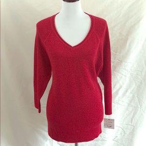 Liz Claiborne red sweater multiple sizes